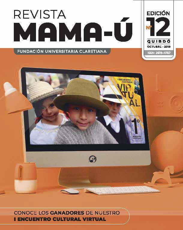 Portada Revista Cultural Mama-Ú # 12